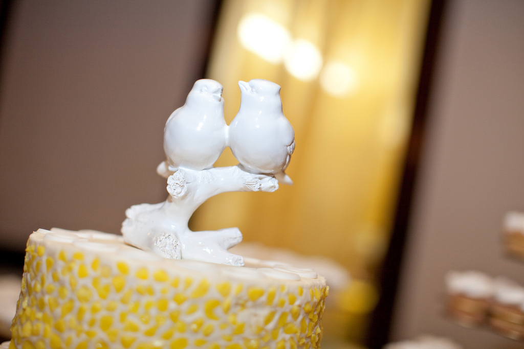 Cake Topper :: Wedding Detail | leftoverlemons