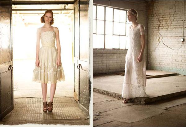 Charlotte Casadéjus :: Vintage Wedding Dress | leftoverlemons