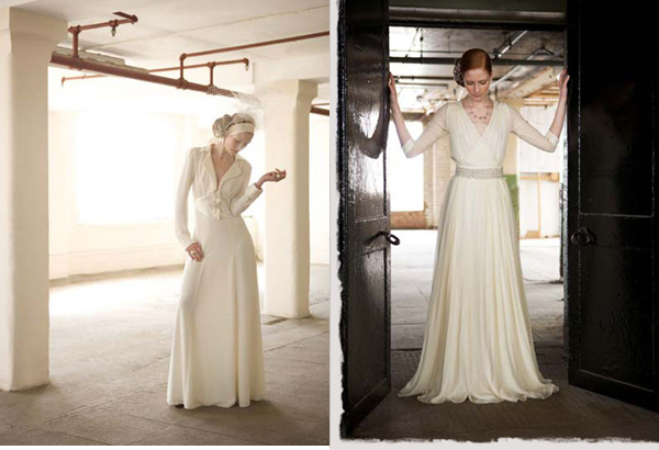 Charlotte Casadéjus :: Vintage Wedding Dress